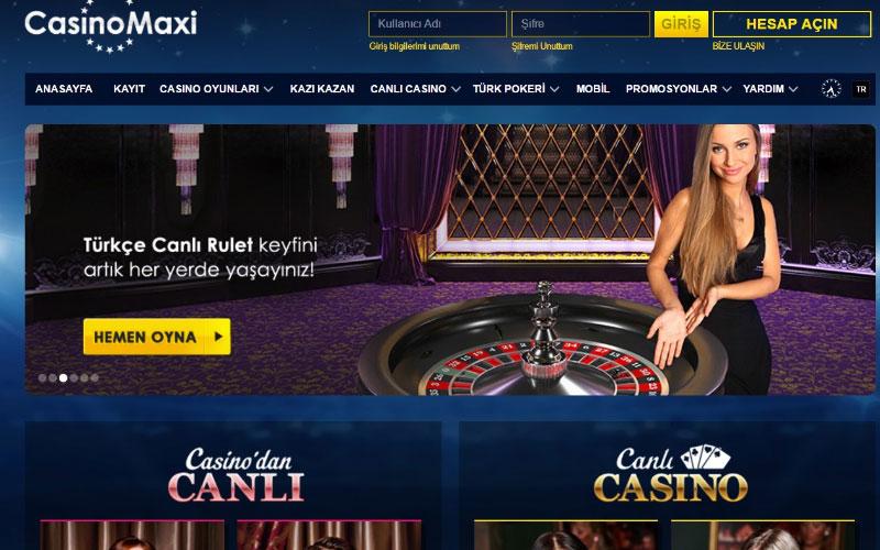 Casinomaxi Ayrıntılı İnceleme
