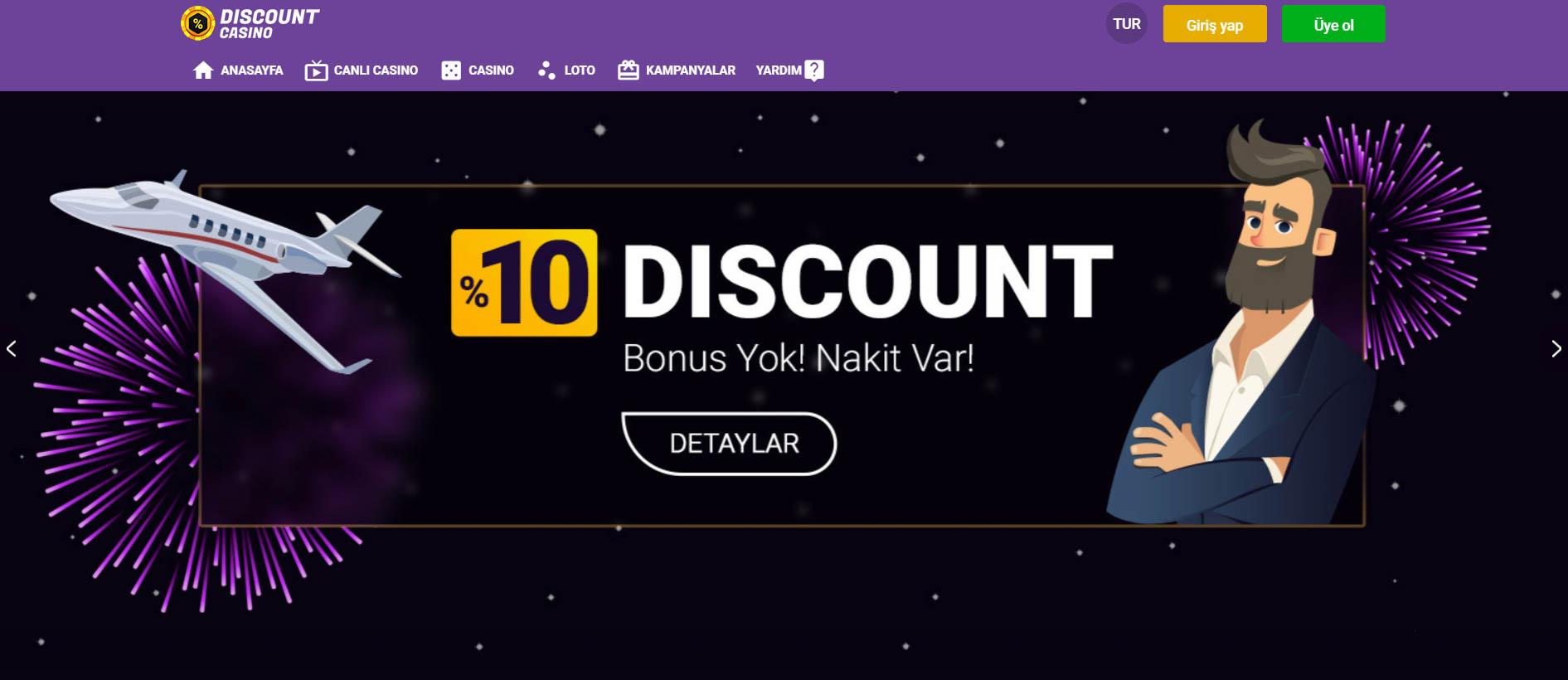 Discount Casino Ayrıntılı İnceleme